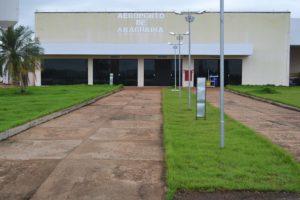 Fachada do Aeroporto de Araguaína