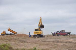 construçao de aterro sanitario em augustinopolis (foto: paulo palmares)