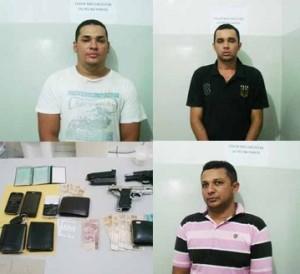 acusados de assalto