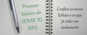 Processo Seletivo 2013