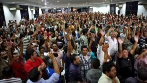 A maioria decidiu aceitar a proposta do governo e por fim ao movimento grevista