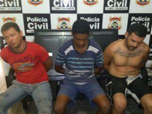 Traficantes presos
