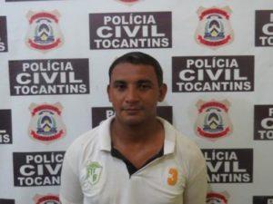 Preso em flagrante delito Edimar Dourado da Cunha, 33 anos