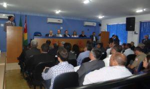 Plenário Deputado Sebastião Borba, da Câmara Municipal de Miracema