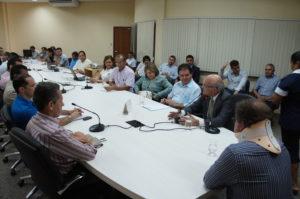 Entidades sindicais se reúnem com Governo e discutem mudanças na Lei do Igeprev