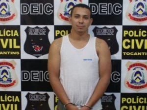 Ele estava preso na Cadeia Pública de Tocantinópolis, após tomar de assalto um caminhão