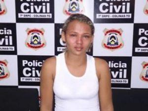 Geisiane Costa Silva, 19 anos, acusada por tráfico de drogas