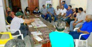 Wanderlei Barbosa (SD) em reunião com lideranças políticas