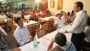 Empresários de Gurupi organizaram uma homenagem ao senador Ataídes Oliveira
