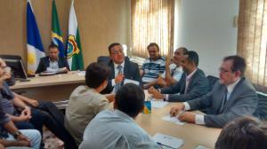 vice-governador se comprometeu em apresentar as propostas ao governador do Estado, Sandoval Cardoso