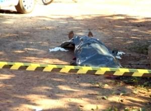 Mulher  encontrada morta nos fundos da Câmara de Vereadores de Guaraí (Guaraínotícias)