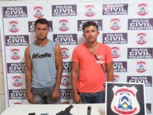 Polícia Civil autua suspeitos por posse ilegal de arma de fogo e corrupção ativa