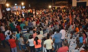 Caminhada reuniu moradores de várias cidades da região do Bico do Papagaio