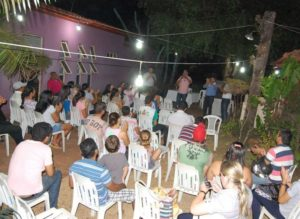Waderlei Barbosa fala com população de Colinas