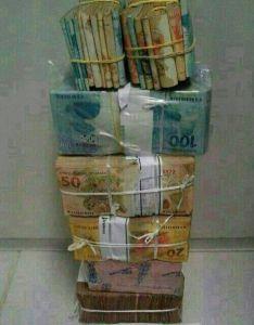 dinheiro apreendido