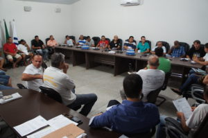 Em reunião, motoristas relataram ao Sisepe situação
