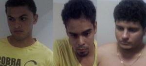 Jorge Lemes da Silva, 26 anos, Vinicius Cortes de Lima, 24 anos, Roniely Dantas Martinho, 22 anos