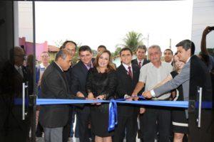 A presidente do TJTO falou da importância do novo prédio para a Comarca