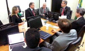 Durante reunião com ministro em Brasília, Governo apresentou dados sobre a saúde no Tocantins
