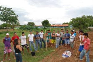O programa é voltado para jovens agricultores familiares que não terminaram o ensino fundamental
