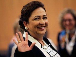 Ministra da Agricultura, Katia Abreu