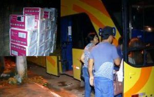 Mais de 30 microondas foram encontrados em bagageiro de ônibus