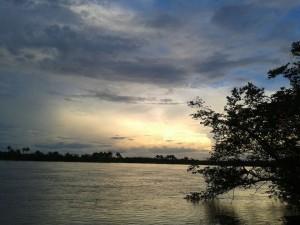 Na categoria paisagem, a foto vencedora foi do estudante Elisoney e retrata uma das margens do Rio Tocantins