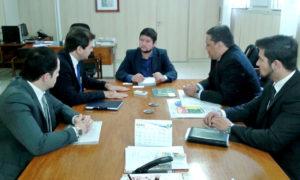 Reunião com o secretário nacional da Juventude, Gabriel Medina