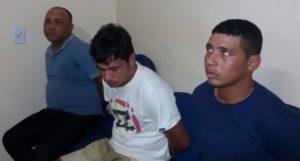 Três suspeitos presos em Augustinópolis
