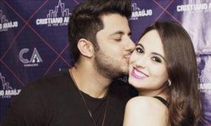Cristiano Araújo e a namorada Allana Coelho