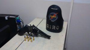 Arma apreendida durante operação da PM em Araguaína