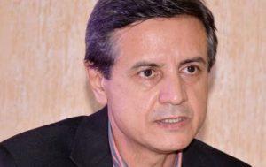 Secretário de Estado da Saúde Samuel Bonilha