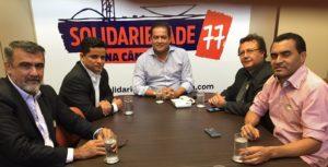 Reunião em Brasília na última quinta-feira que foi discutido a reorganização do SD no Tocantins.