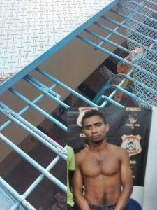 Evandro Silva Araújo, de 22 anos, suspeito pela morte do Taxista Elesbão Alves