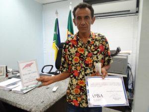 Rosaldo Santos, Presidente da Associação de Preservação dos Botos da Amazônia