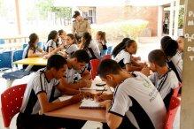Alunos do Colégio Militar de Palmas retornaram às atividades em período integral