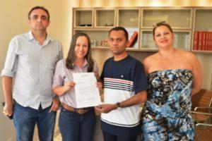 A reunião aconteceu no gabinete da deputada, em Palmas