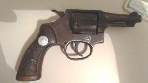 Arma apreendida com jovem em Aguiarnópolis