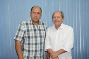 Gipão assume a liderança e Xeroso, a vice-liderança. Ambos são do mesmo partido do prefeito, o Partido da República (PR)