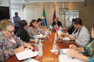 Durante o encontro o Tocantins se destacou por ser o único estado que participa de todos os financiamentos do FNDE