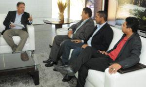 Audiência foi realizada na manhã desta quarta-feira, 19, no Palácio Araguaia