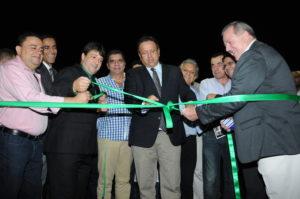 O governador Marcelo Miranda participou da abertura oficial da Feira de Negócios de Palmas