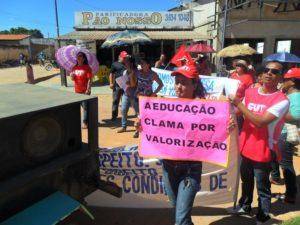 A greve dos professores da rede estadual foi considerada ilegal e abusiva