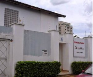 Sede do jornal Primeira Página em Palmas