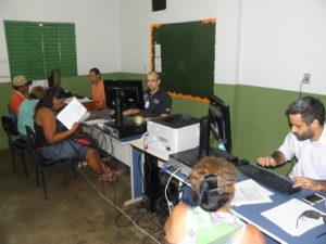 Equipe da SJTO durante JEF itinerante em Araguacema