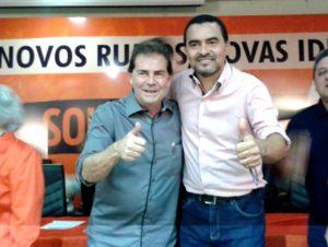 Presidente Nacional do SD, Paulinho da Força lança Wanderlei Barbosa à prefeitura de Palmas
