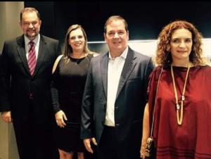 Durante o evento, Claudia Lelis realizou diversos contatos com empresários interessados em investir no Tocantins