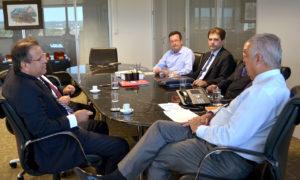 Governador busca na ANTT solução para a retomada das obras de duplicação da BR 153