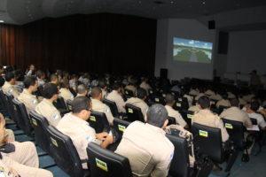 Palestra realizada no Quartel do Comando Geral