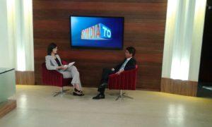 Shelsea Lima entrevista presidente eleito da OAB, Walter Ohofugi, no Bom Dia Tocantins